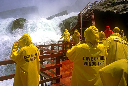 Bridal Veil Falls Cave Of The Winds Luna Island Niagara Falls