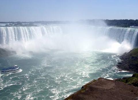 canadian falls horseshoe falls facts niagara falls canada side