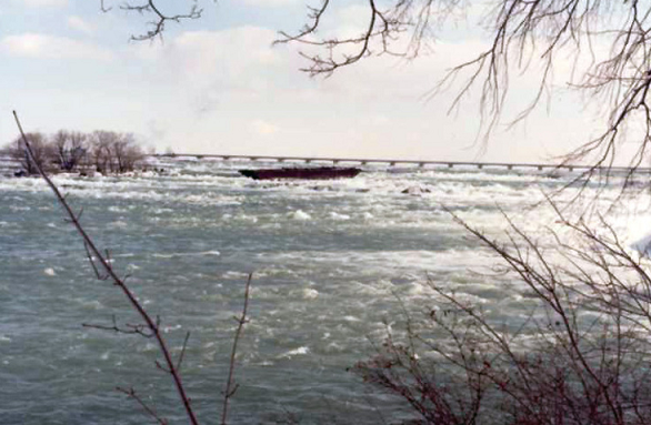 """The Old Scow""  Located on the Upper Niagara River"