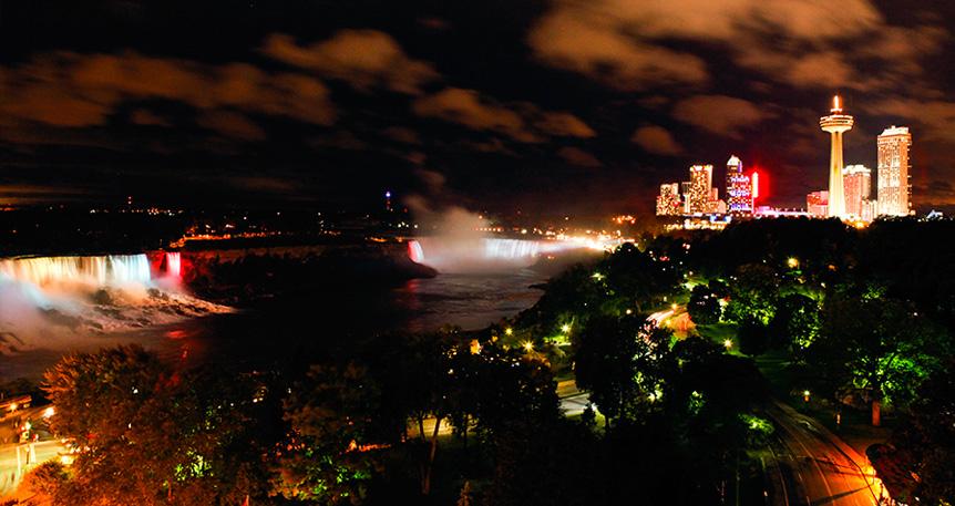 Niagara Falls Illumination Illumination Schedule