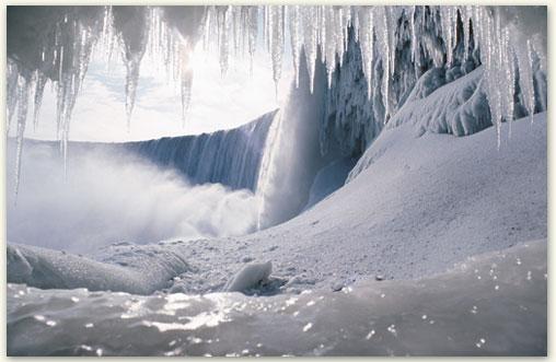 Niagara In Winter Niagara Falls Niagara Region In Winter