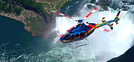 visite hélicoptère new york